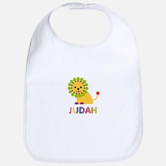 Judah Loves Lions Bib