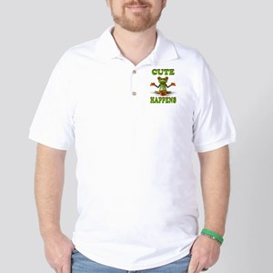 CUTE FROG Golf Shirt