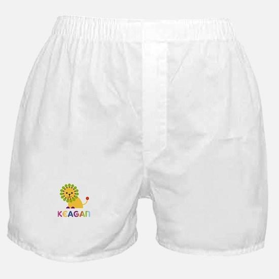 Keagan Loves Lions Boxer Shorts