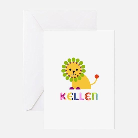 Kellen Loves Lions Greeting Card