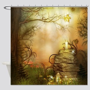 Fairy Woodlands 2 Shower Curtain