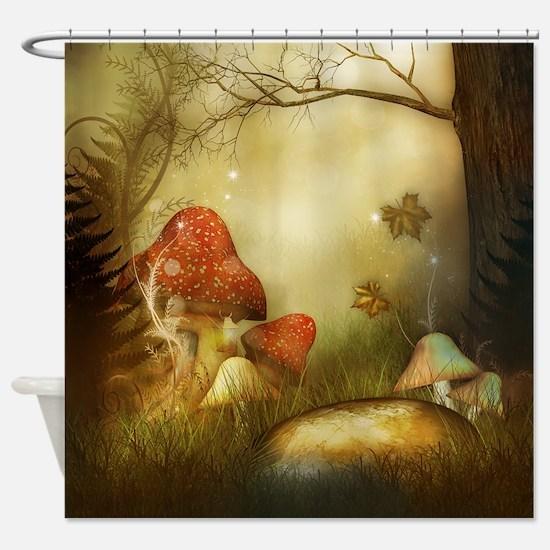 Fairy Woodlands 4 Shower Curtain