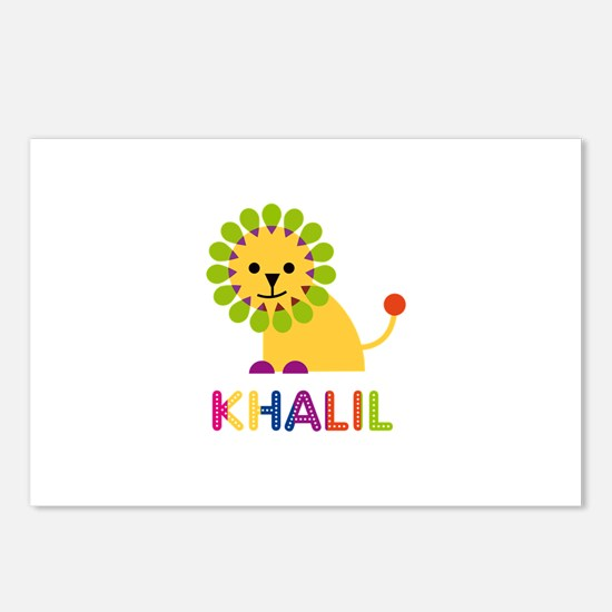 Khalil Loves Lions Postcards (Package of 8)