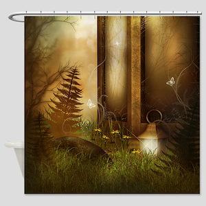 Fairy Woodlands 5 Shower Curtain