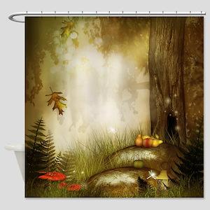 Fairy Woodlands 9 Shower Curtain