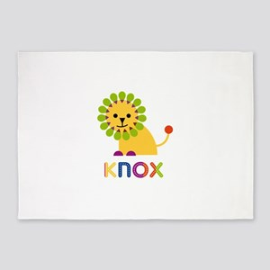 Knox Loves Lions 5'x7'Area Rug