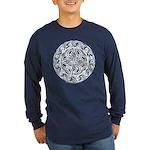 Celtic Shield Long Sleeve Dark T-Shirt