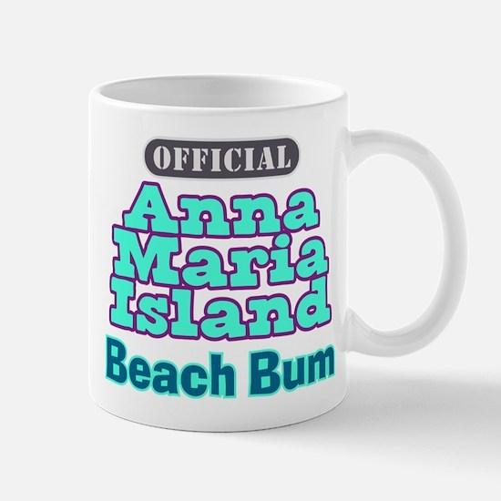 Anna Maria Island Beach Bum Mug