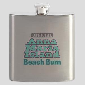 Anna Maria Island Beach Bum Flask