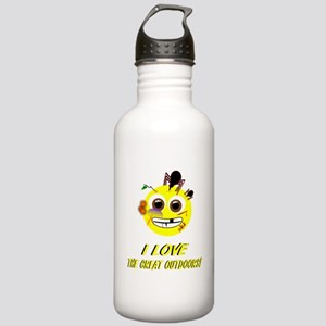 I LOVE the Great Outdoors! Water Bottle