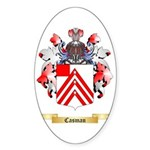 Casman Sticker (Oval 50 pk)