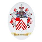 Casman Ornament (Oval)