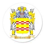 Casini Round Car Magnet