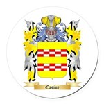 Casine Round Car Magnet