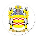 Casina Round Car Magnet