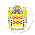 Casillo Round Car Magnet