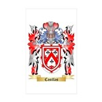 Casillas Sticker (Rectangle 10 pk)
