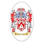 Casillas Sticker (Oval 10 pk)