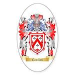 Casillas Sticker (Oval 50 pk)