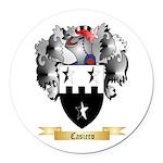 Casiero Round Car Magnet