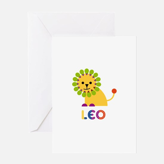 Leo Loves Lions Greeting Card