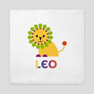 Leo Loves Lions Queen Duvet