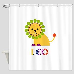 Leo Loves Lions Shower Curtain
