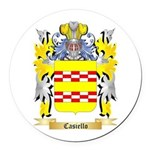 Casiello Round Car Magnet
