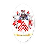 Cashman Oval Car Magnet