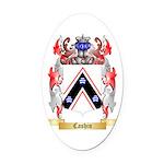 Cashin Oval Car Magnet