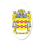 Casetta Oval Car Magnet