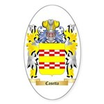 Casetta Sticker (Oval)