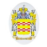 Casetta Ornament (Oval)