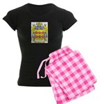 Caset Women's Dark Pajamas