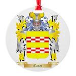Caset Round Ornament
