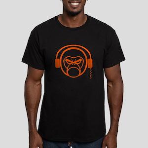 DJ MonkE Men's Fitted T-Shirt (dark)
