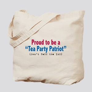 Proud Tea Party Patriot Tote Bag