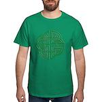 Celtic Four Leaf Clover Dark T-Shirt