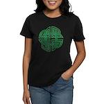 Celtic Four Leaf Clover Women's Dark T-Shirt