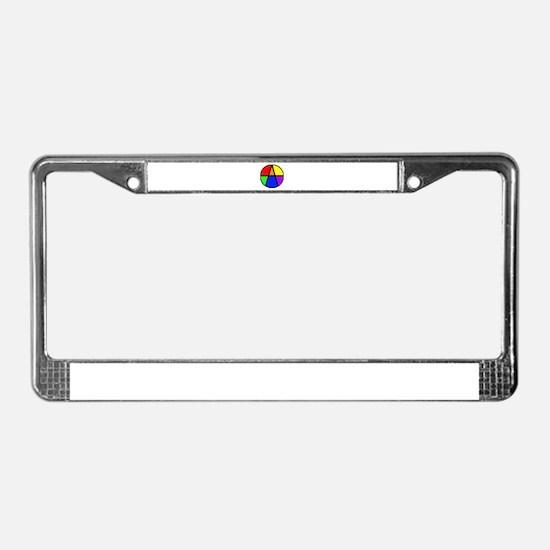 I Am An Ally License Plate Frame