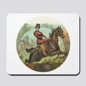 Jumping Horse Mousepad