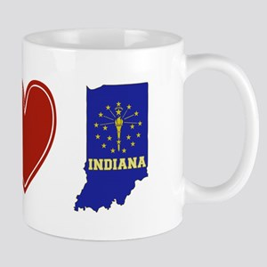 Peace Love Indiana Mug
