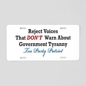 Government Tyranny Tea Party Patriot Aluminum Lice