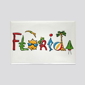 Florida Spirit Rectangle Magnet