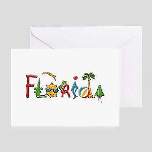 Florida Spirit Greeting Cards (Pk of 10)