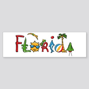 Florida Spirit Bumper Sticker