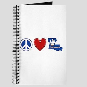 Peace Love Louisiana Journal