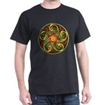 Celtic Pentacle Spiral Dark T-Shirt