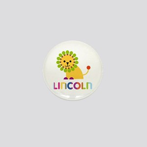 Lincoln Loves Lions Mini Button