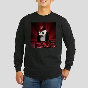 Deejay panda Long Sleeve T-Shirt